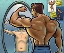 A férfiak testképzavara
