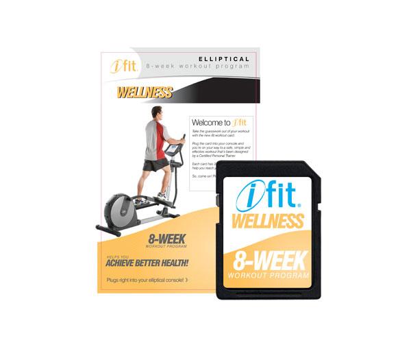 iFIT Wellness edzésprogram elliptikához - 1.szint